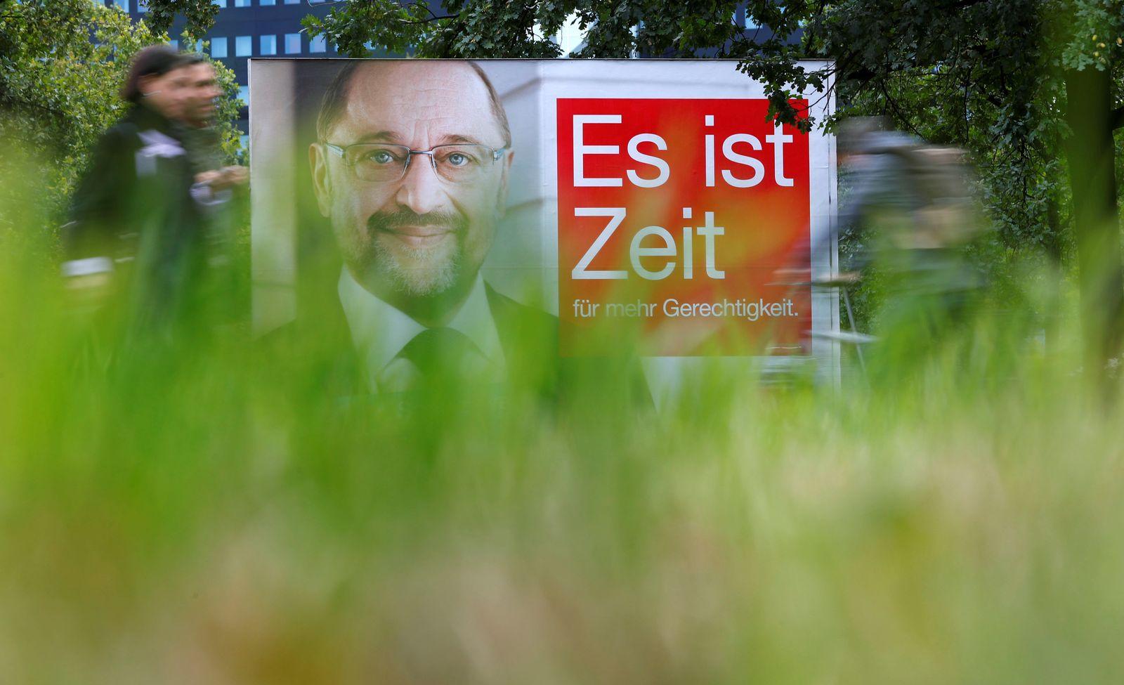 Martin Schulz SPD Plakat