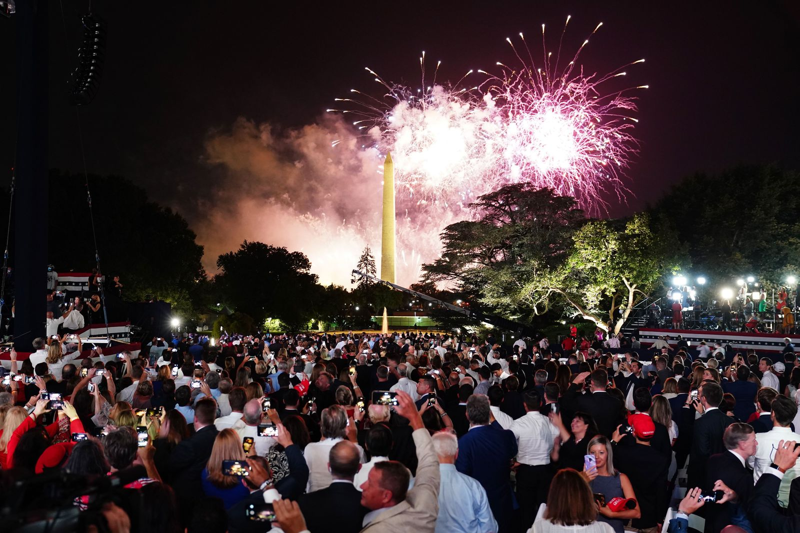 Republican National Convention, Washington, USA - 27 Aug 2020