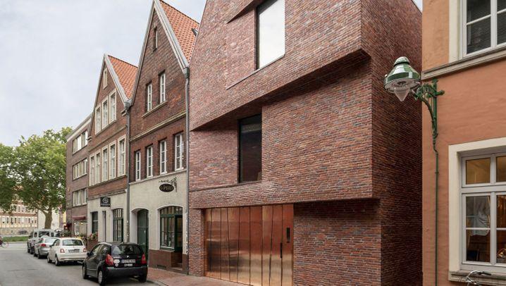 Neubau in der Altstadt: Haus Buddenturm in Münster