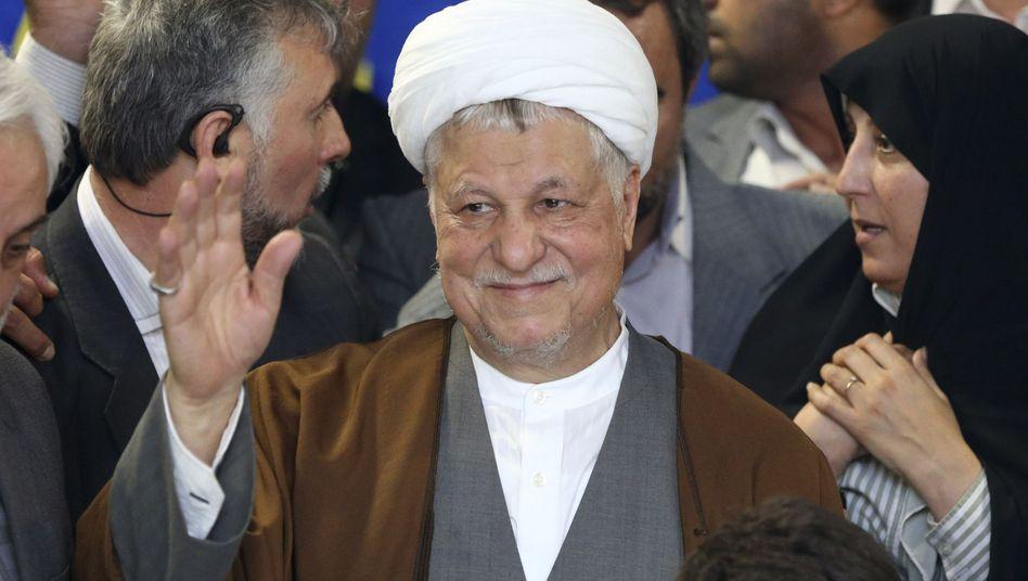 Entscheidung des Wächterrats: Rafsandschani darf nicht zur Iran-Wahl antreten