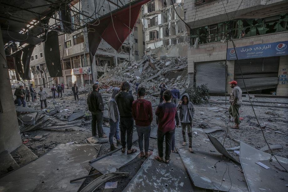 Gazastreifen: Eskalation zwischen Israel und die Hamas ...