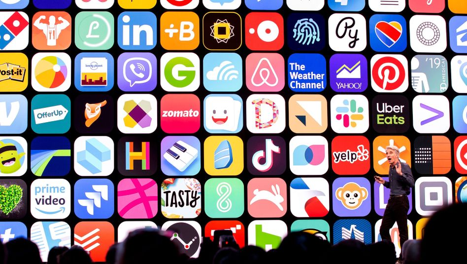 Apple-Manager Craig Federighi umschmeichelt App-Entwickler