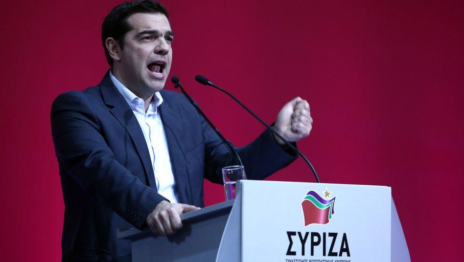 Syriza-Chef Tsipras: Statistik geschönt - oder schlicht irreführend?