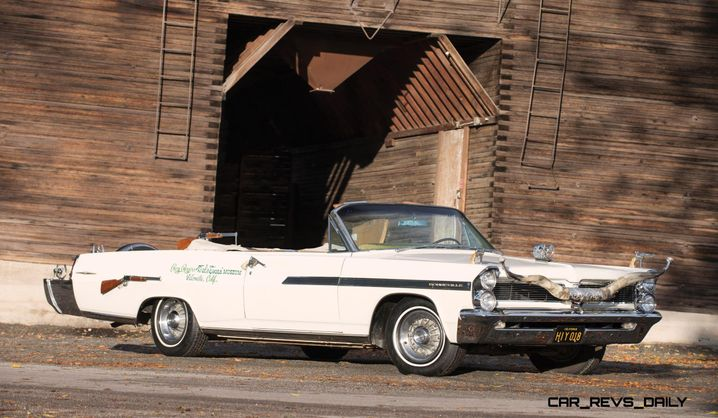 Dieses von Cohn aufgehübschte Pontiac Bonneville Cabriolet ist eine Viertelmillion Dollar wert