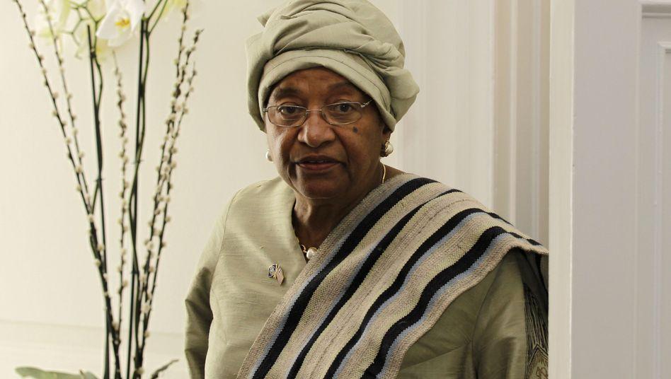 Liberianische Präsidentin Johnson-Sirleaf: Kontroverse Äußerungen