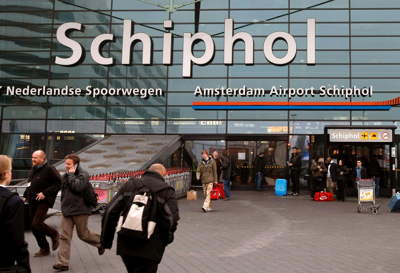 Verdächtiger am Amsterdamer Flughafen Schiphol angeschossen