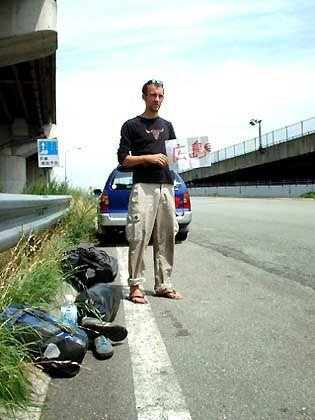 Daumen raus: Per Anhalter nach Hiroschima