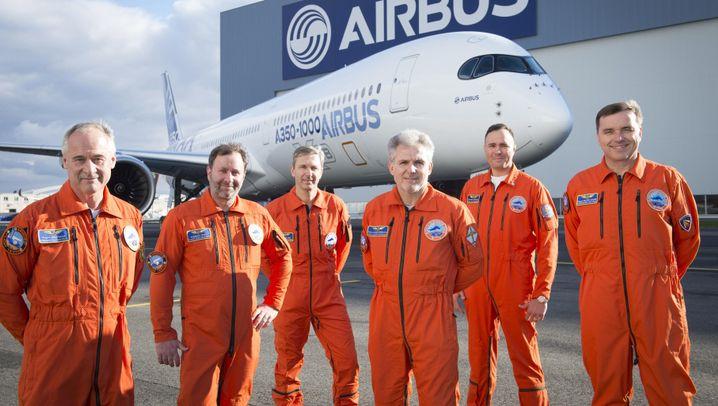 Neuer Airbus-Langstreckenjet: A350-1000 hebt ab