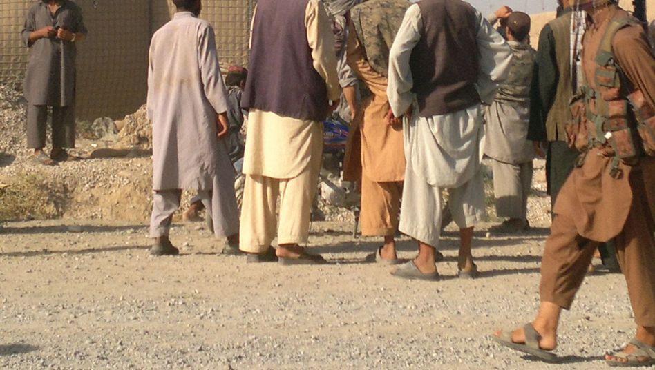 Krieg in Nordafghanistan: Taliban hissen ihre Flagge auf einem früheren Bundeswehrcamp