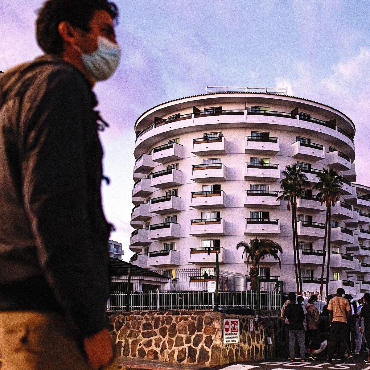 Gran Canaria: Im Luxushotel treffen Hotelgäste auf Flüchtlinge - DER SPIEGEL
