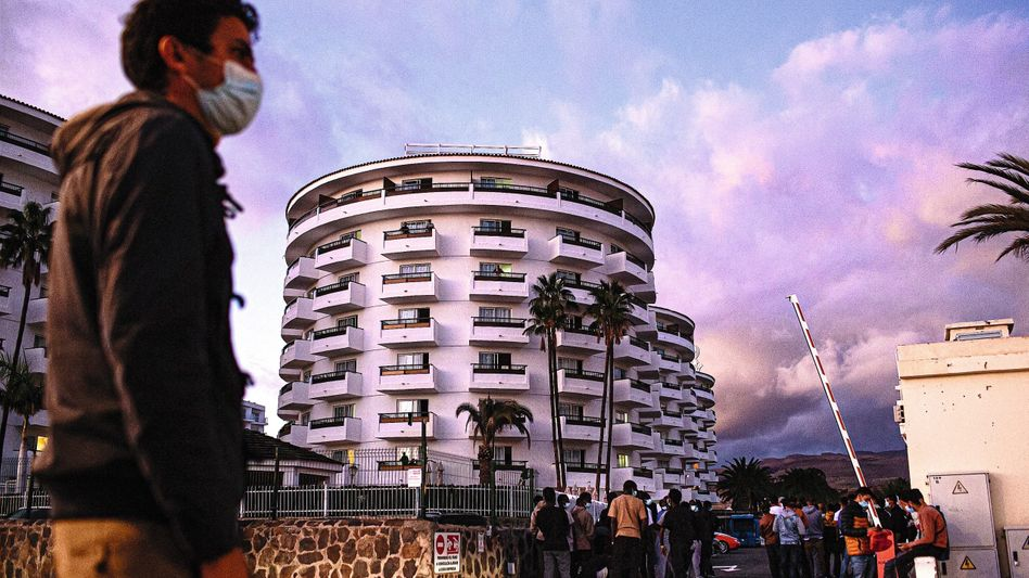 The Servatur Waikiki resort on the Spanish island Gran Canaria
