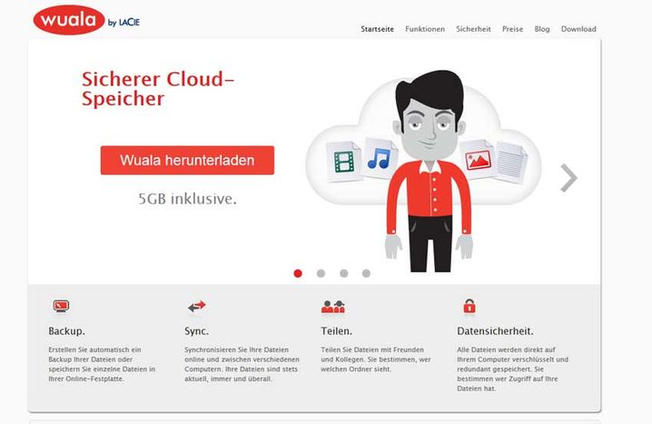 Wuala: Der Schweizer Dienst verschlüsselt Daten direkt beim Nutzer