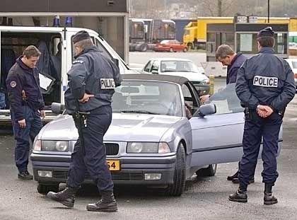 Kontrollen an der französisch-spanischen Grenze: Die Attentate waren angeblich eine Vergeltungsaktion gegen die spanische Irak-Politik