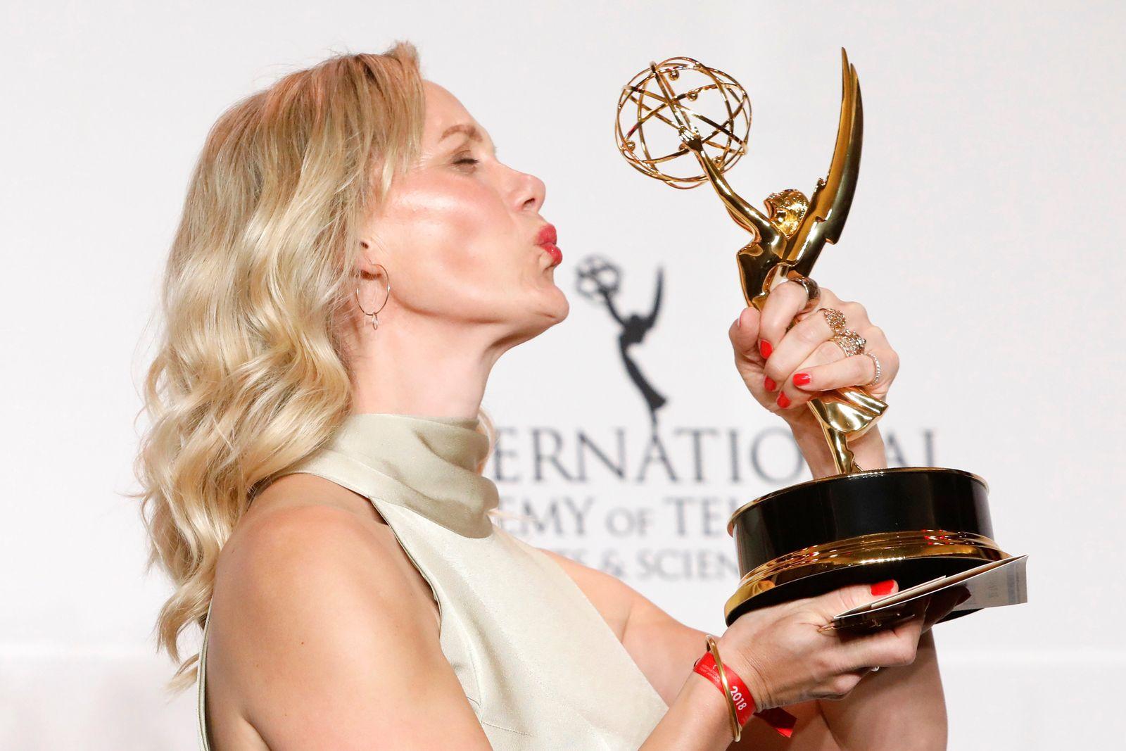 Anna Schudt International Emmy Awards
