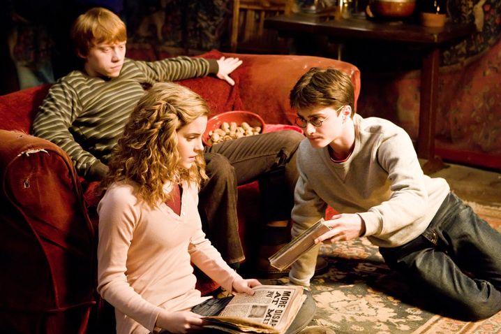 """Szene aus """"Harry Potter und der Halbblutprinz"""":"""