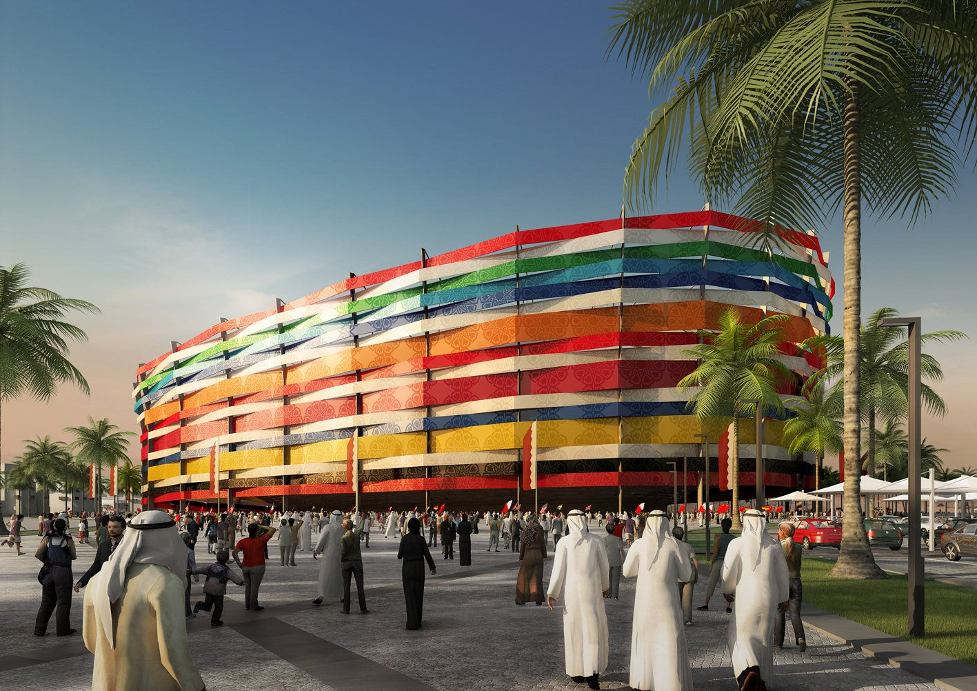 EINMALIGE VERWENDUNG Fußball WM 2022 in Katar