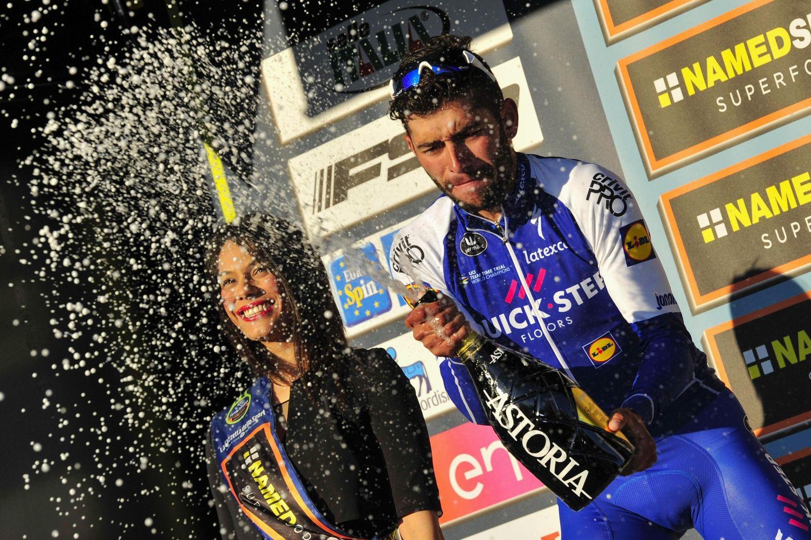 Italy Cycling Tirreno Adriatico
