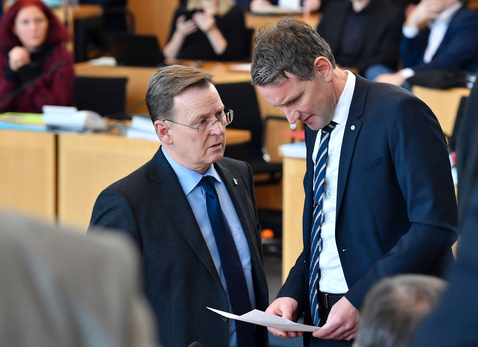 Ministerpräsident Ramelow hält Höcke auf Distanz