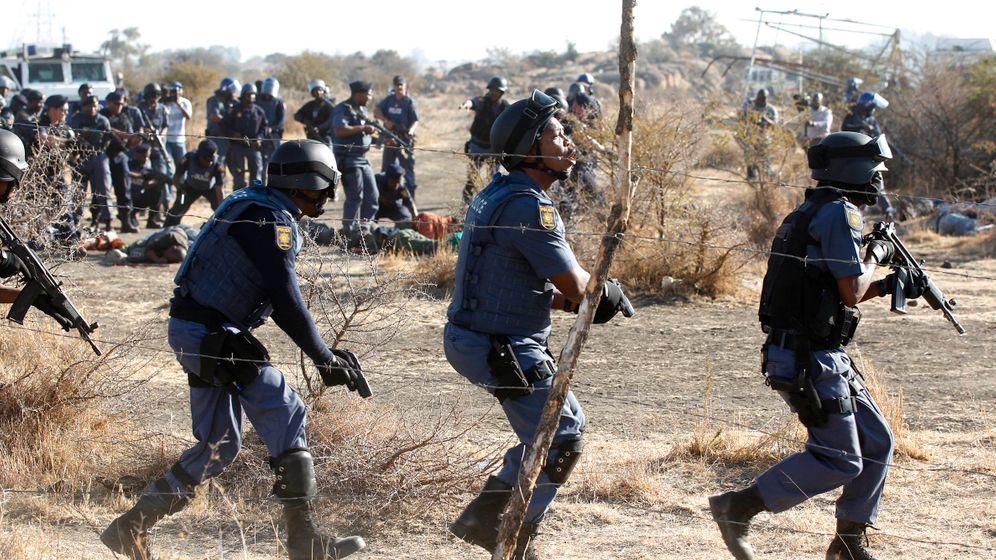 Platinmine in Südafrika: Tödlicher Streik