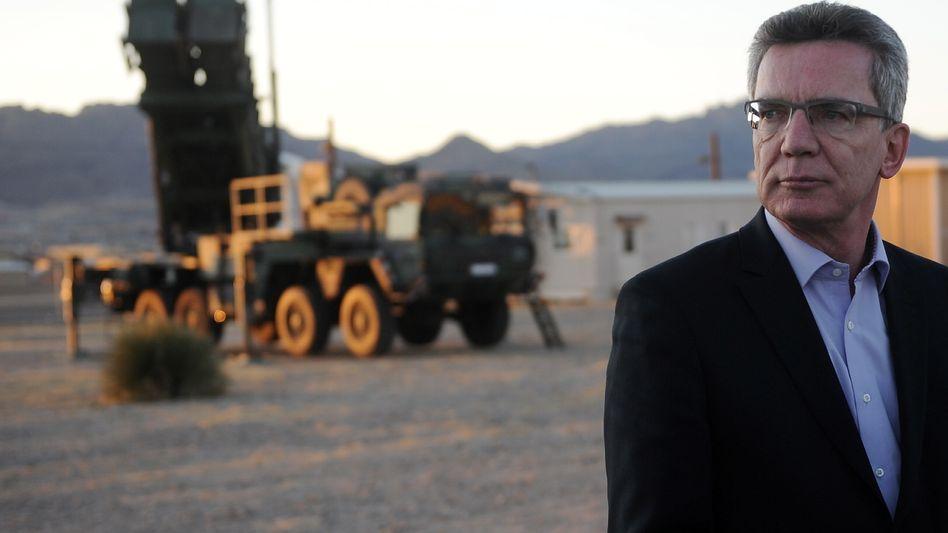 Verteidigungsminister de Maizière in Fort Bliss (Texas): Aus für einen Traditionsstandort