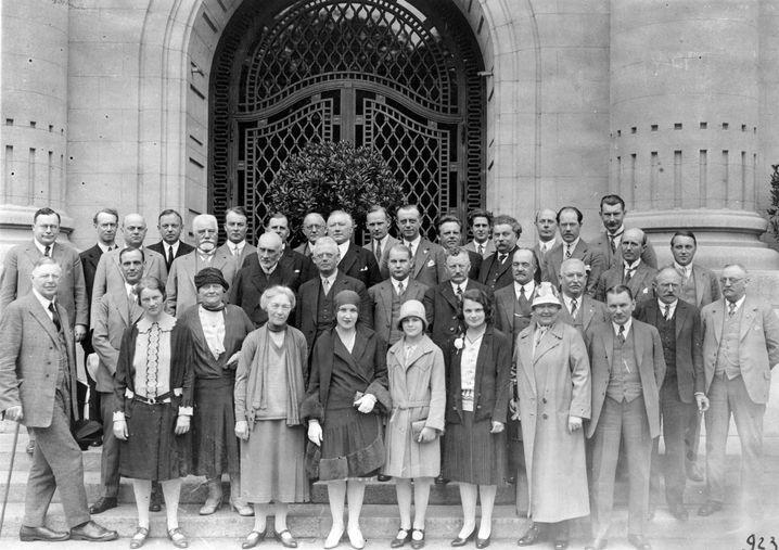 ILO-Delegation von 1929