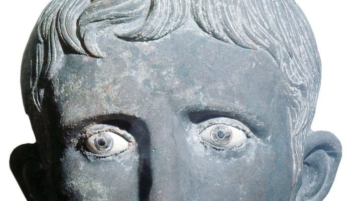 Bronzebüste des Augustus, um 25 v. Chr.
