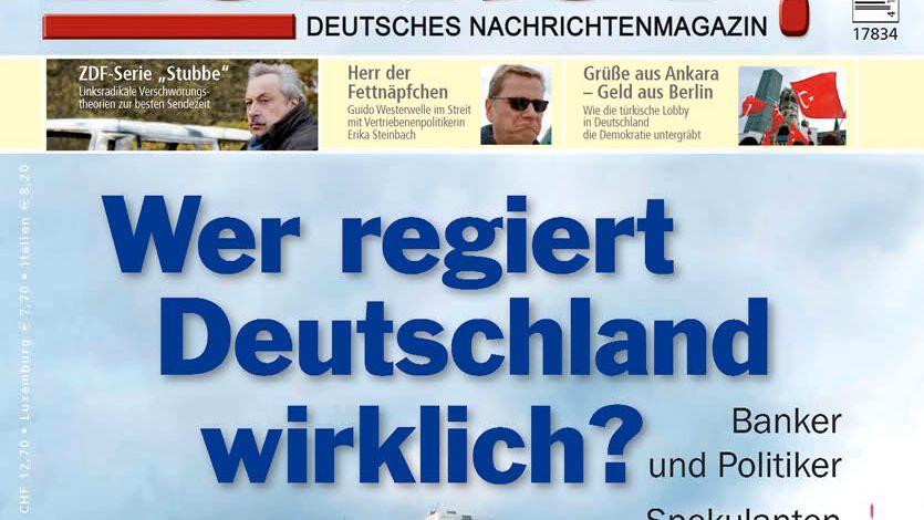 """Völkische Postille mit solidem Vertriebsdeal: Die Bauer Media Group lässt """"Zuerst"""" ausliefern."""