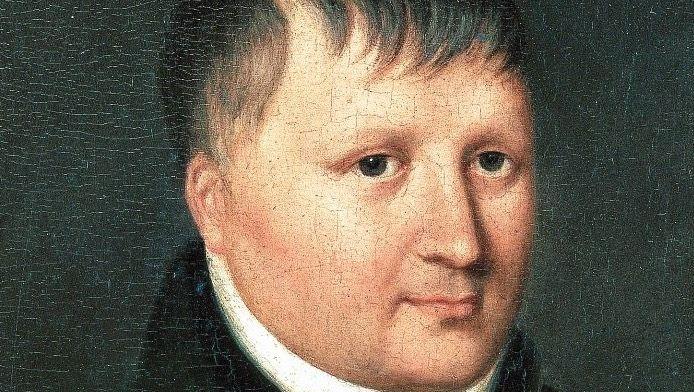 Gebändigt: Der Theorie-Feuerkopf Friedrich Schlegel wandelte sich zum frommen Anhänger der Restauration (Gemälde von Delphine de Custine, 1816)
