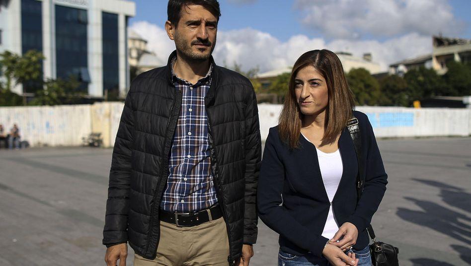 Mesale Tolu und ihr Ehemann Suat Corlu: Bei der Einreise wurde Corlu der Pass abgenommen
