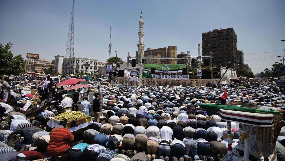 Demonstrationen in Ägypten: Gebete und Proteste in Kairo
