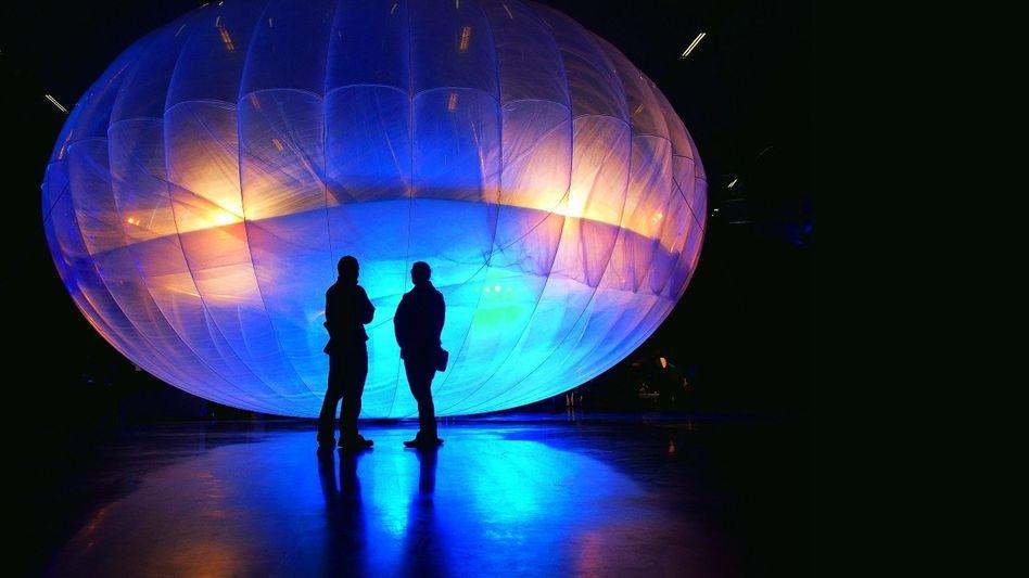 Stratosphärentauglicher Wifi-Ballon