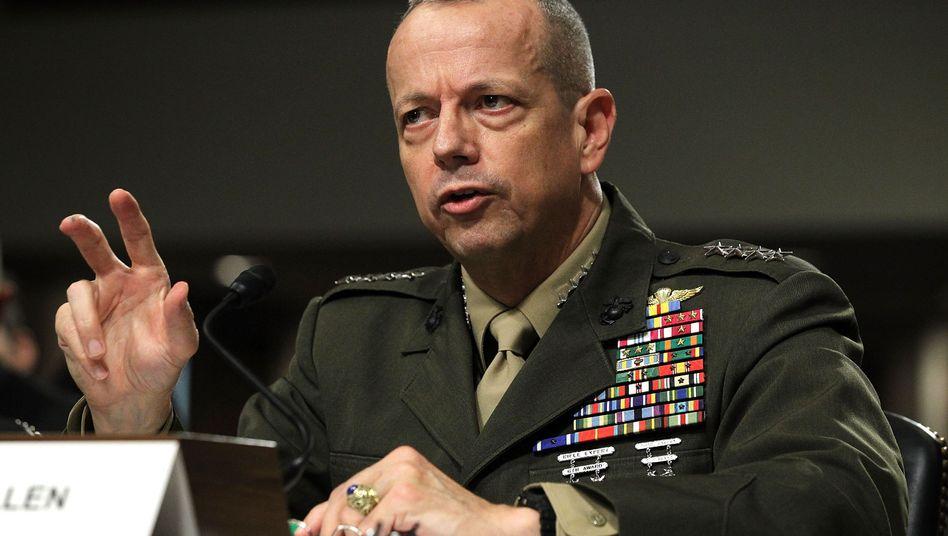 US-General John Allen: Kein Abzug aus Afghanistan vor 2014