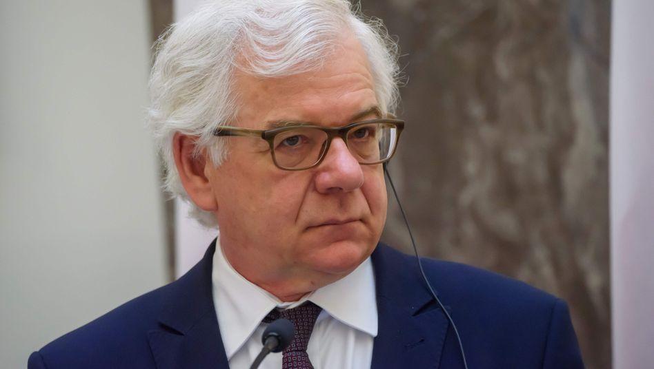 Jacek Czaputowicz: Der Minister habe früher bereits gesagt, dass nach der Präsidentenwahl ein guter Moment für einen Wechsel an der Spitze der polnischen Diplomatie sei