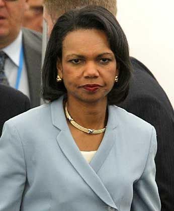 "Condoleezza Rice: ""Falsches Signal"""