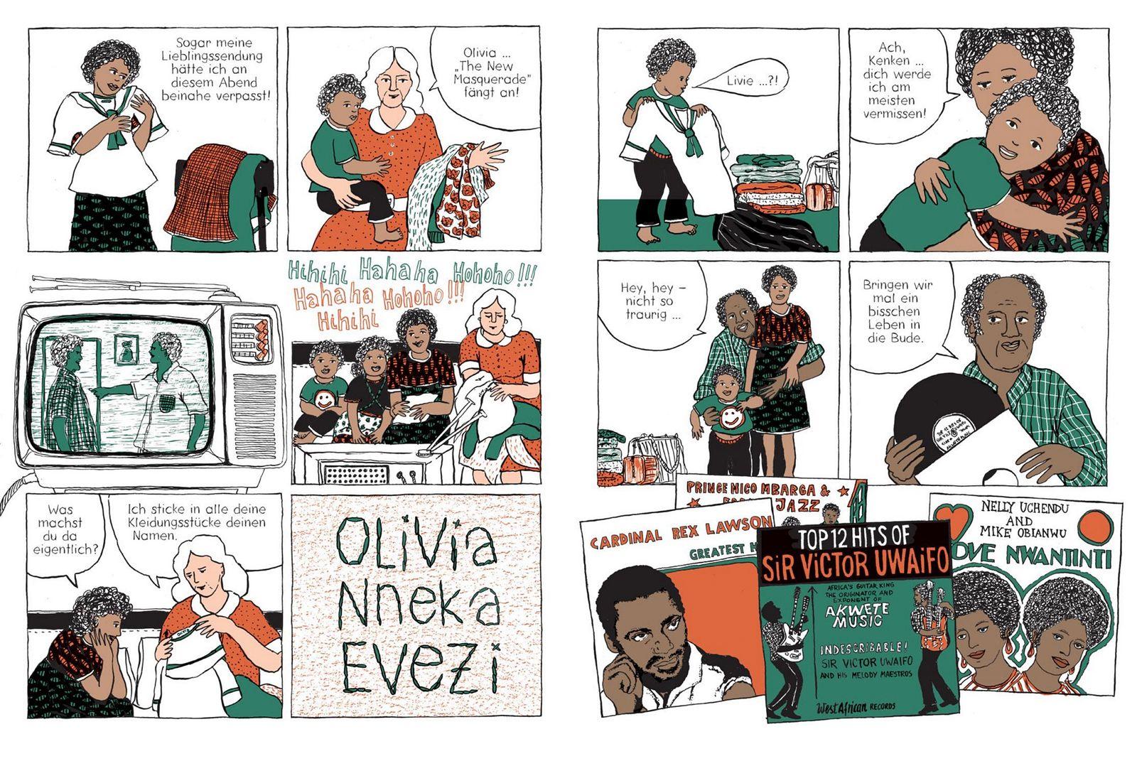 EINMALIGE VERWENDUNG Comictipps/ Birgit Weyhe: German Calendar No December