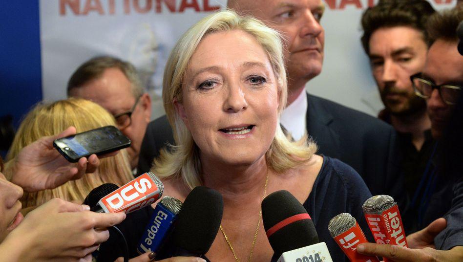Französische FN-Chefin Marine Le Pen: Großer Erfolg bei der Europawahl