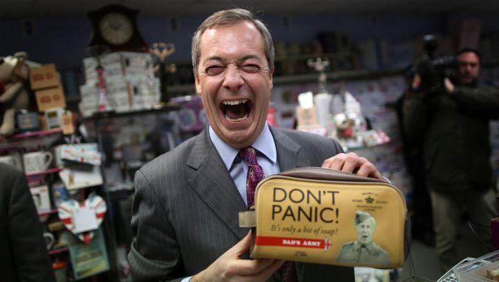 Wahlschlappe für Eurokritiker Ukip: Nigel Farage tritt ab