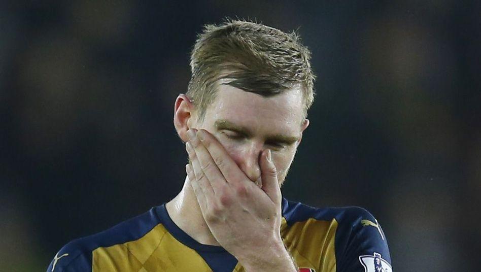 Arsenals Mertesacker: Rückschlag in Southampton