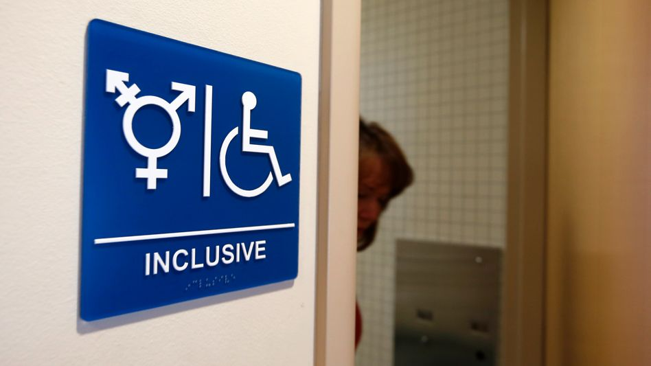 Gender-neutrale Toilette