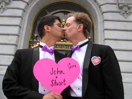 """Homosexuelles """"Ehepaar"""" in San Francisco: Dorn im Auge des Präsidenten"""