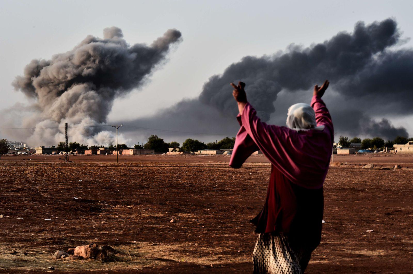 TOPSHOTS-TURKEY-SYRIA-CONFLICT-MURSITPINAR