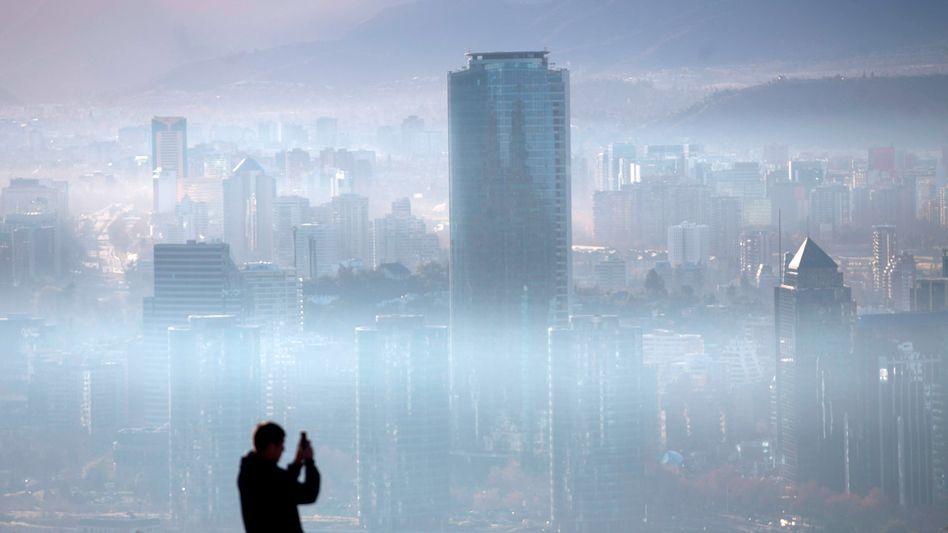 """Smog über Santiago de Chile: """"Das Jahr 2020 muss den Scheitelpunkt markieren"""""""