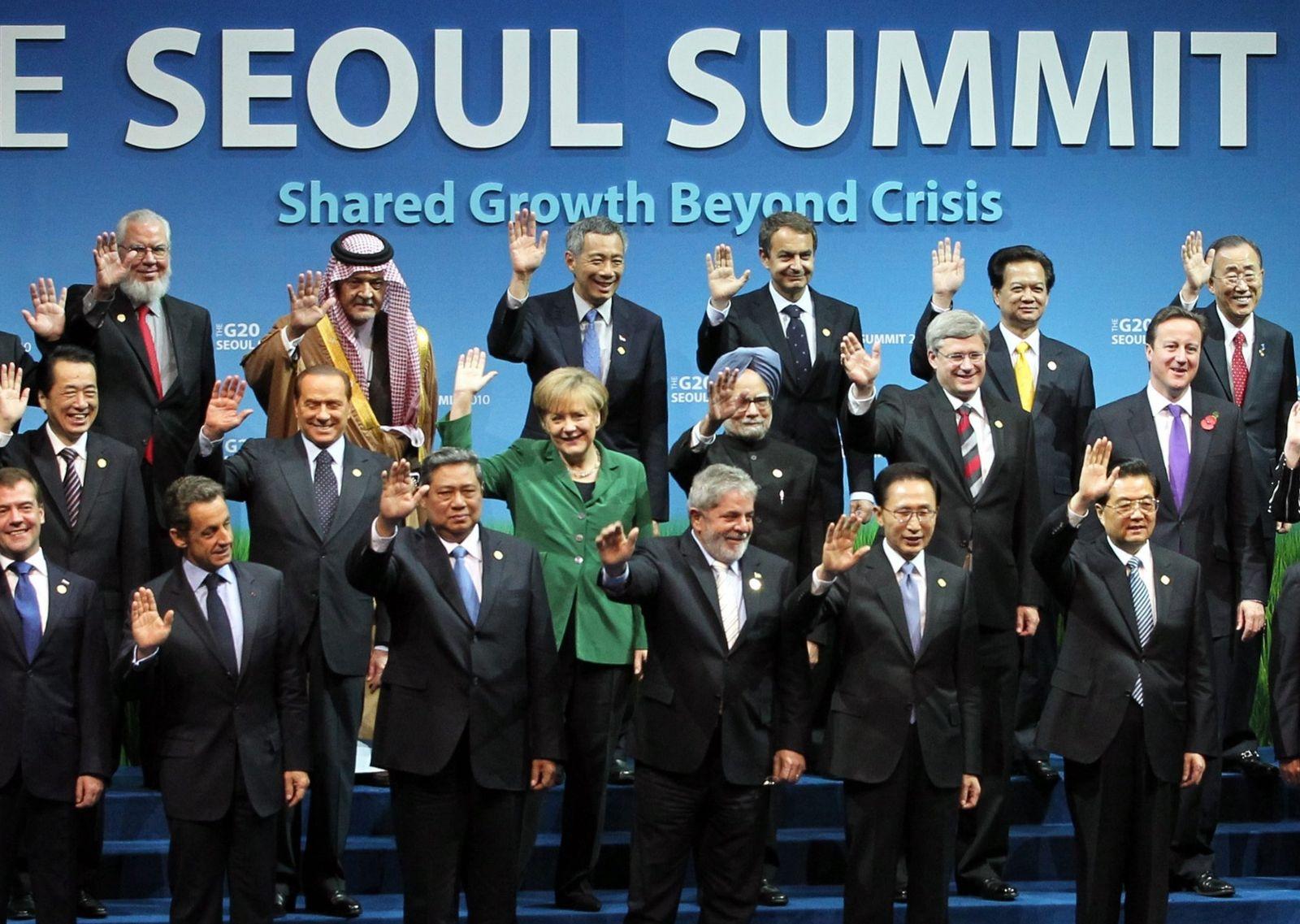 G20-Gipfel - Gruppenfoto