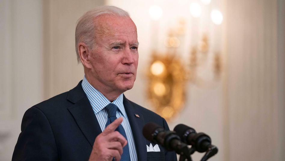US-Präsident Joe Biden: »Hoffnung und Erwartung«