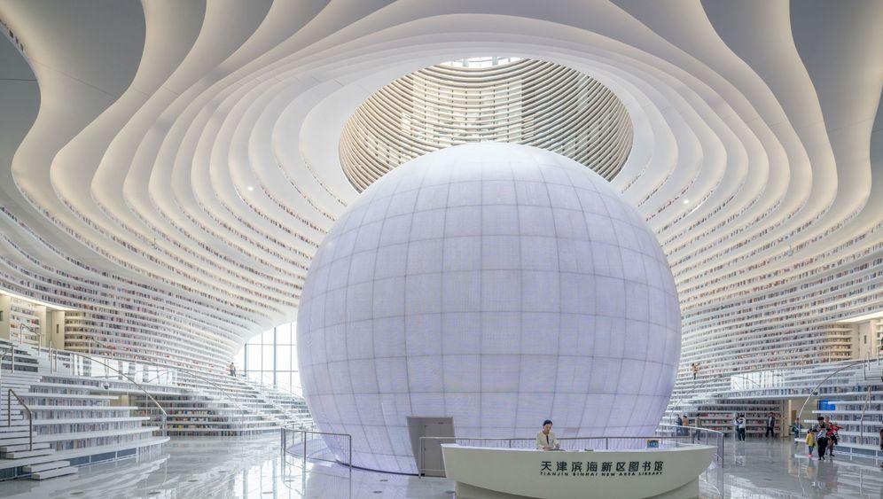 Bibliothek in Tianjin: Architektonische Perle für literarische Perlen
