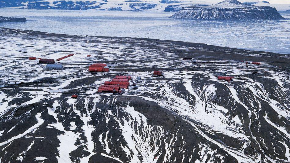 Forschungsstation Marambio in der Antarktis: Höchste Temperatur an einem Februartag seit 1961 gemessen