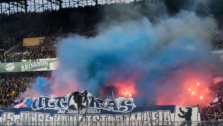 Schlägerei im Hertha-Block: Ein Remis rückt in den Hintergrund