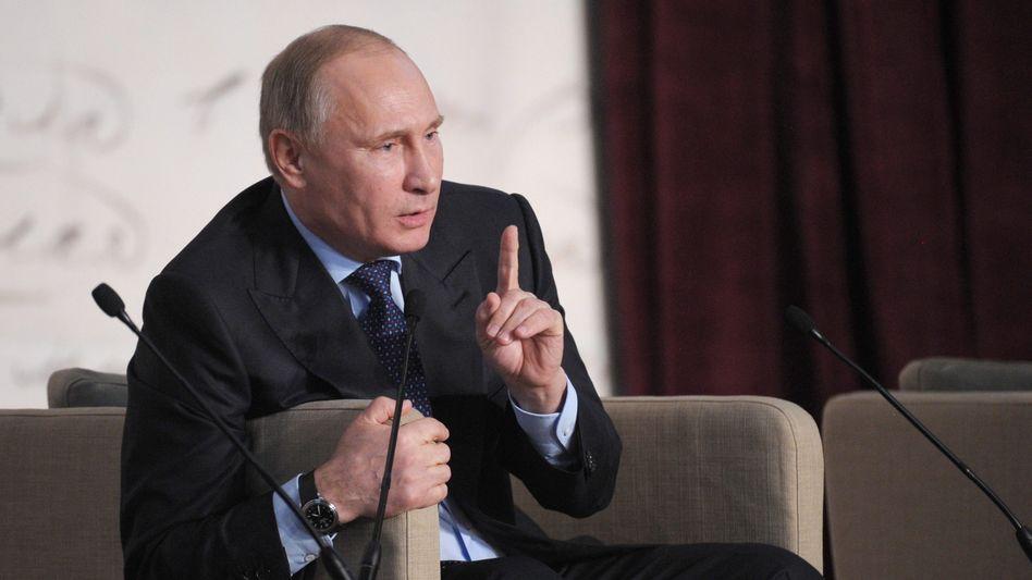 Präsident Putin: Oberster Geschichtslehrer der Nation