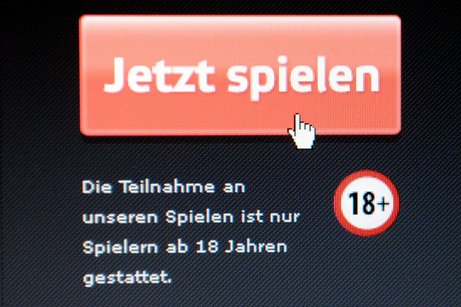 Symbol / Glücksspiel / Spielsucht / Online - Gewinnspiel