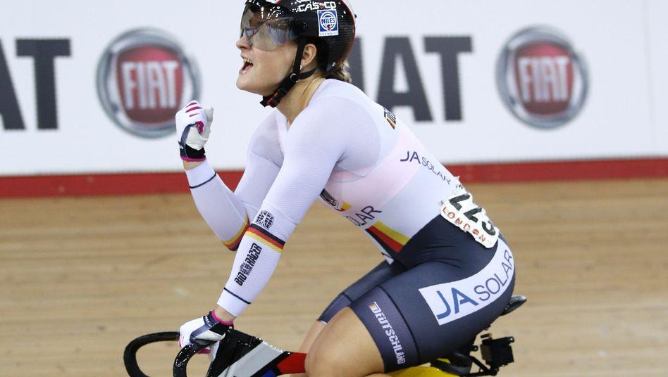 Bahnrad-Weltmeisterin Kristina Vogel